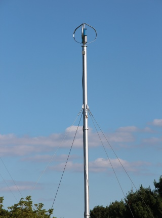 Performance Evaluation of a 700 W Vertical Axis Wind Turbine