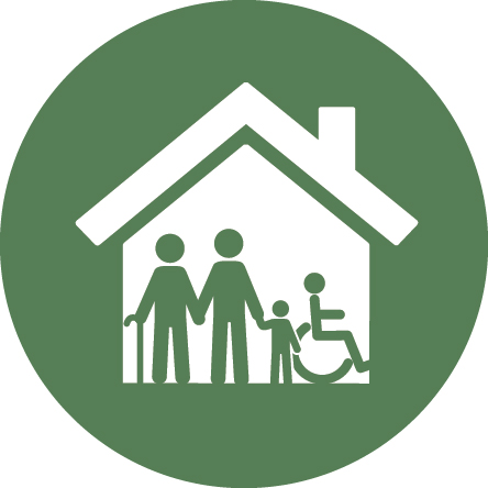 inclusive housing icon