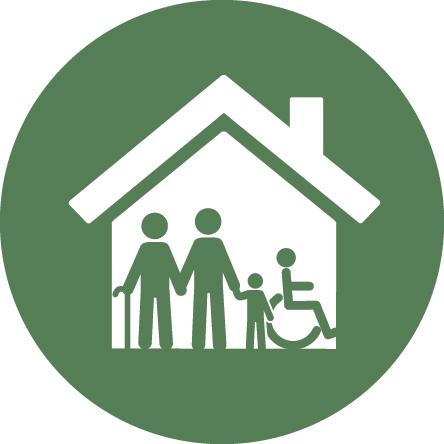 inclusive housing icon