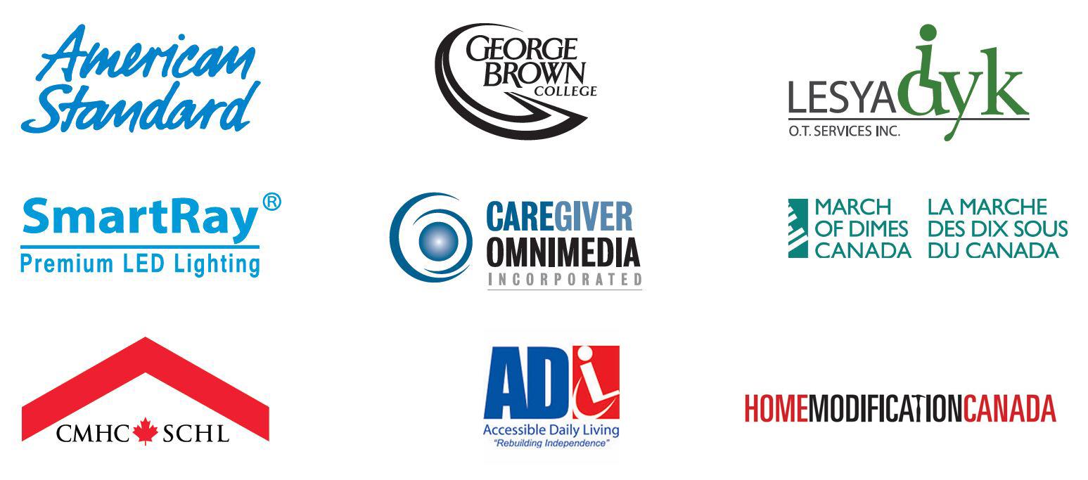 inclusive living sponsor logos